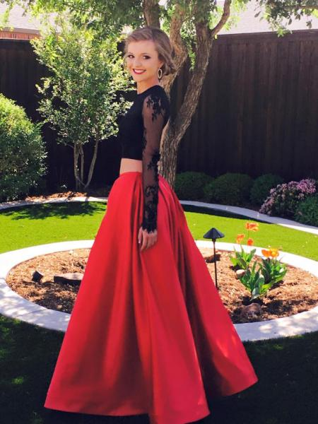 Two Piece Prom Dress - Prom Dress Gallery